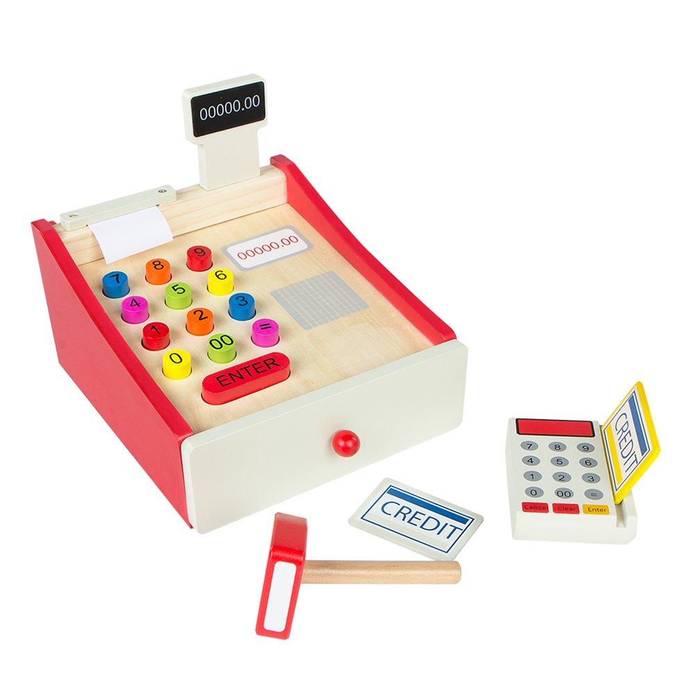 ColorBaby Caja registradora de madera