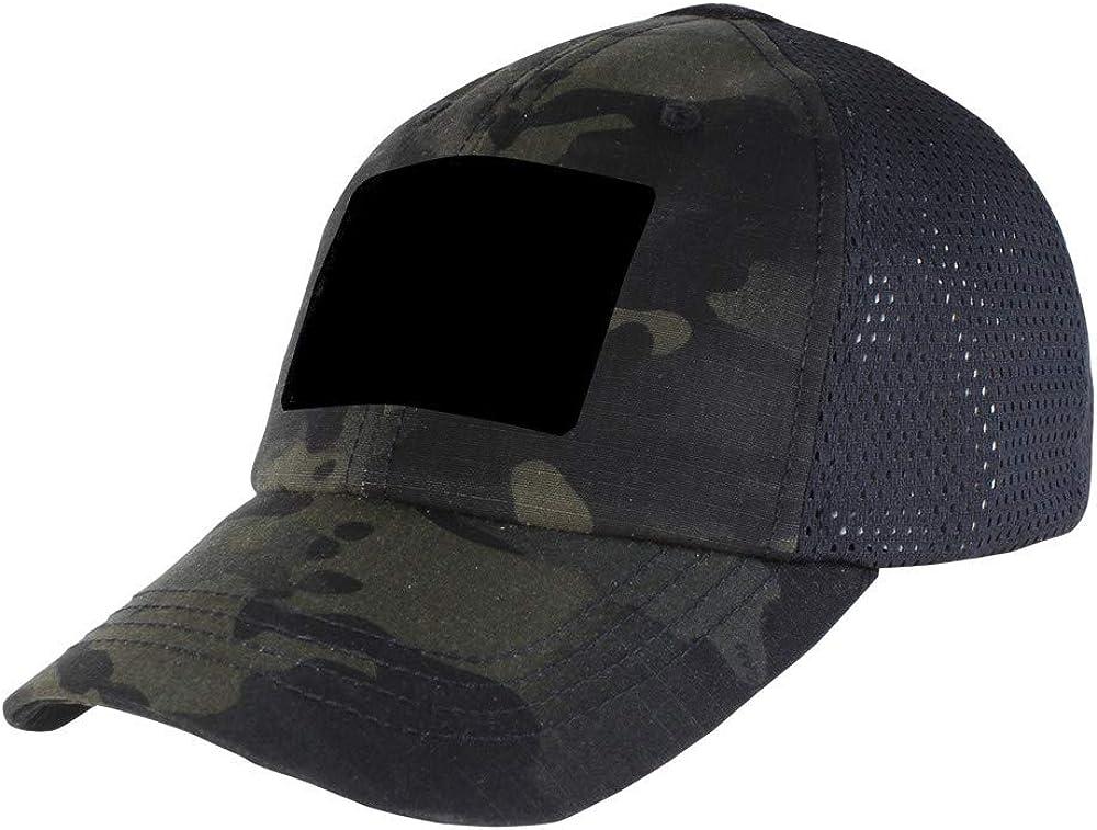 Tactical Cap MultiCam Schwarz CONDOR Ripstop Taktische Mütze Baseball Cap