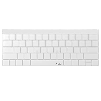 timeless design 59b17 dfc9b Amazon.com: ProCase Clear Keyboard Cover Silicone Skin for MacBook ...