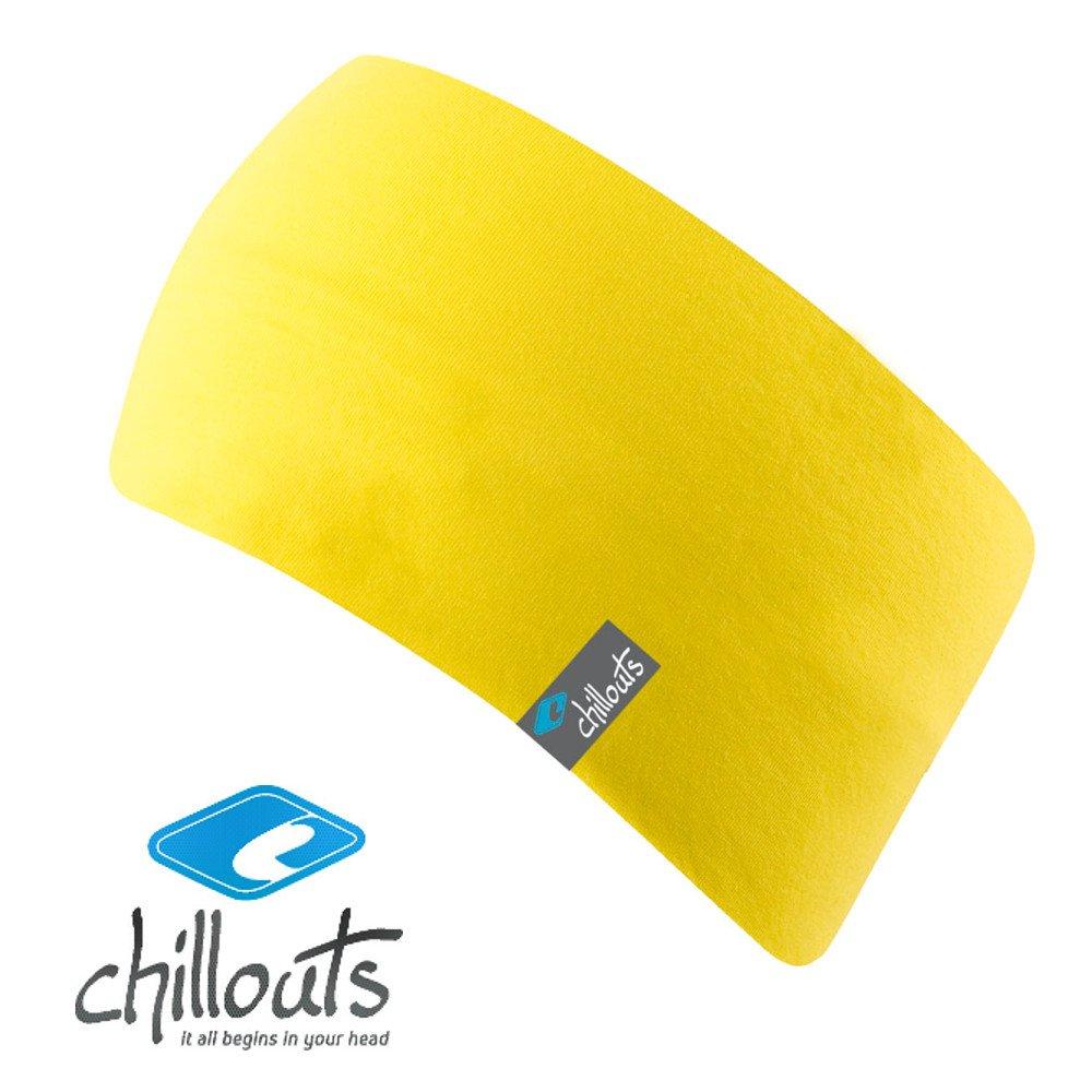 CHILLOUTS Eton Summer Headband Haargummis Haarband Haarbänder Farben: gelb 4474 ETO 10