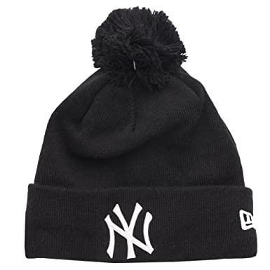 c1a4d535062 ... promo code for new era unisex adults new york yankees bobble hat one  size black 91a57