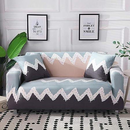 stqjh Funda de sofá Algodón Estampado Floral Sofá Toalla Funda de sofá Fundas para Sala de Estar Funda de sofá Funda Sofá Proteger Muebles,Color 18,Pillowcase-2pcs: Amazon.es: Hogar