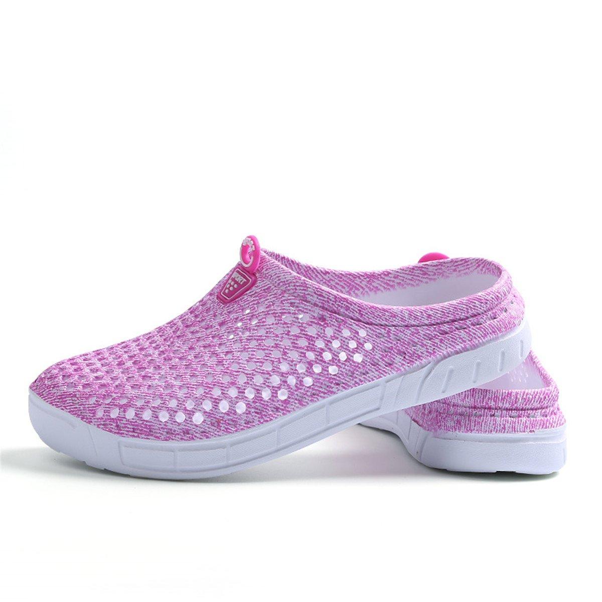 Ginjang Women's Garden Clogs Shoes Slip-on Slippers Sandals(39/Pink) by Ginjang (Image #4)