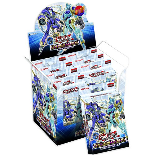 - Yugioh Card Game SYNCHRON EXTREME English 1st Edition Structure Deck Inspired by Yusei Fudo's deck! 41 cards