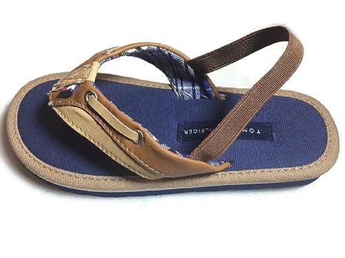 2d2d7a20e41776 Tommy Hilfiger Little Boys  Lil Danny Flip Flop - Size 11 12  Amazon.ca   Shoes   Handbags