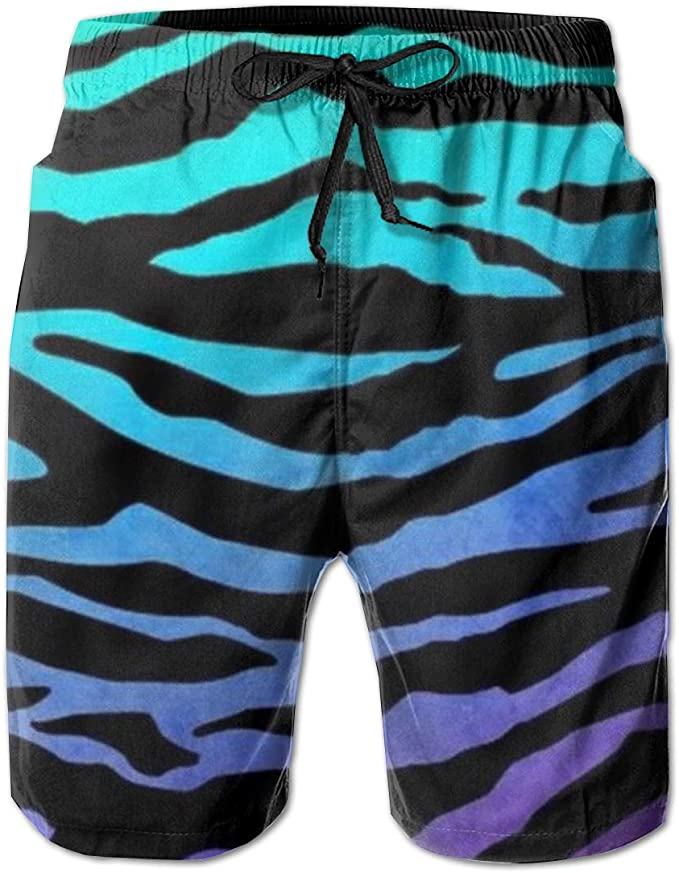 YongColer Mens Swim Trunks Surfing Board Shorts Quick Dry Holiday Party Shorts