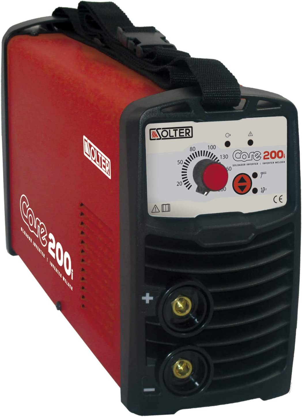 Solter 1 INVERTER CORE-200i, Rojo