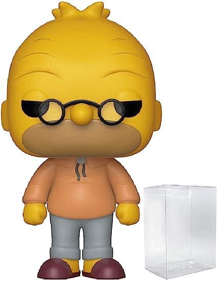 Funko POP The Simpsons 499 Grampa Simpson BOITE ABIME