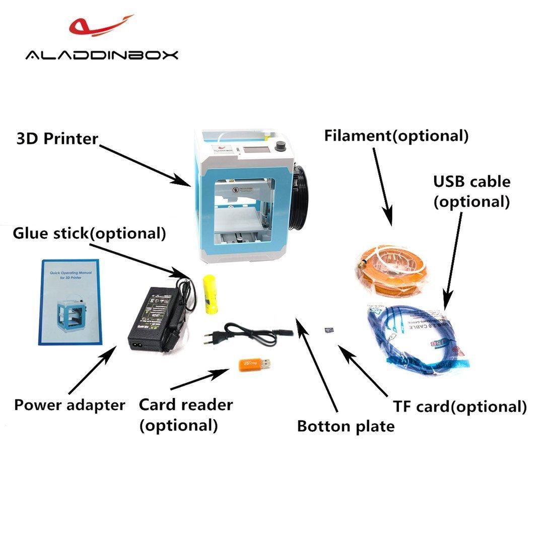 Swiftswan Modelo de Impresora 3D Constructor con Tarjeta TF ...