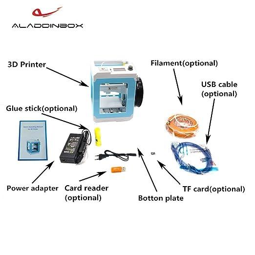 Swiftswan Modelo de Impresora 3D Constructor con Tarjeta TF y ...