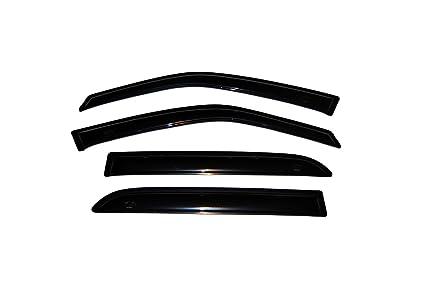 Auto Ventshade 94746 Original Ventvisor Side Window Deflector Dark Smoke,  4-Piece Set for 2000-2006 Cadillac Deville