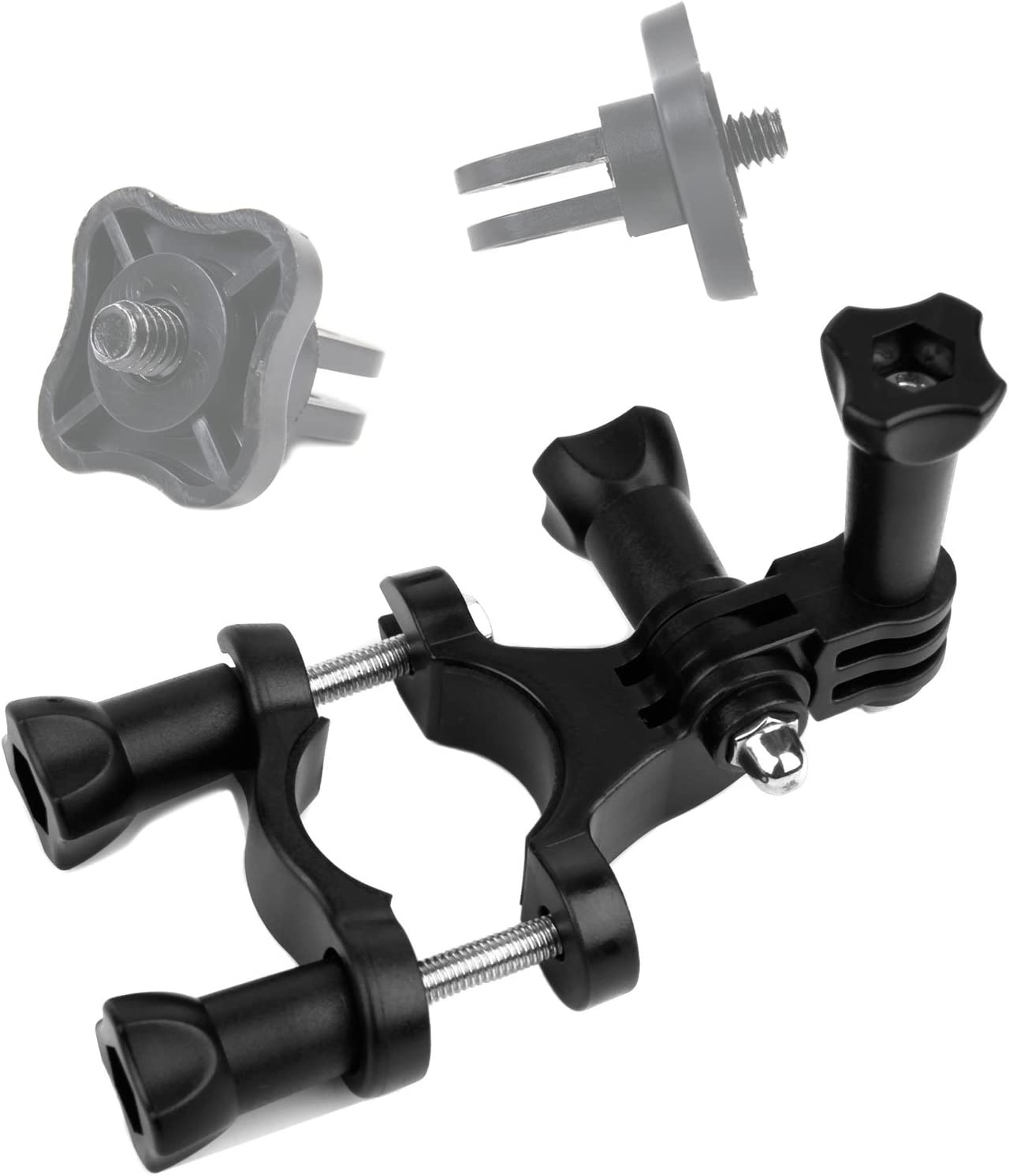 DURAGADGET Quality Bike Handlebar Mount Compatible with Ricoh WG-M1