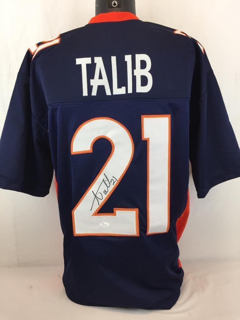 7a88a6a4f96 Amazon.com  Aqib Talib Signed Jersey - Aquib Jsa Coa - Autographed NFL  Jerseys  Sports Collectibles