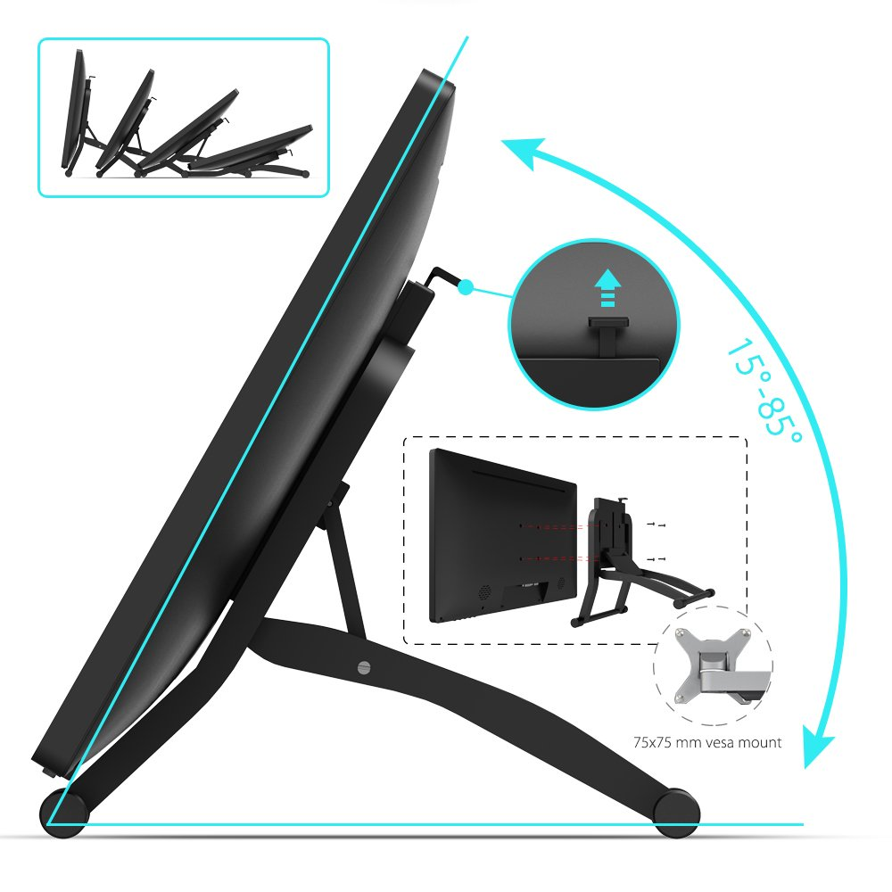 1920x1080 XP-PEN Artist22 Pro 22inch HD IPS Graphic Pen Display Interactive Drawing Tablet Monitor Support Windows Mac with Adjustable Stand