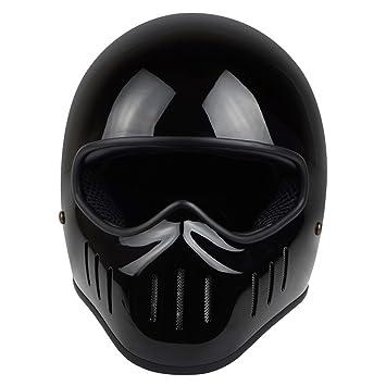 Off-Roady Casco de la Motocicleta de la Cara Completa de la Fibra de Vidrio