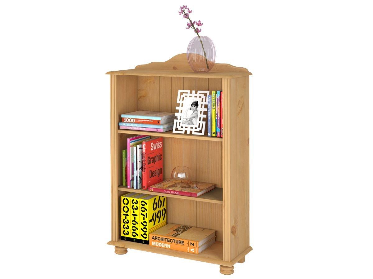 loft24 j 39 adore kiefer regal b cherregal standregal holzregal aktenregal landhausstil kiefer j. Black Bedroom Furniture Sets. Home Design Ideas