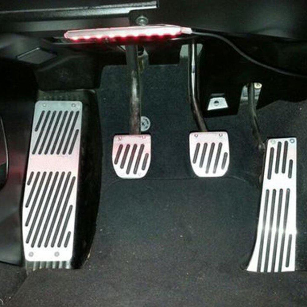 Orel/_carparts MT Fu/ßst/ütze Sportpedal Pedale Pedal Set Schwarz MT 4pcs