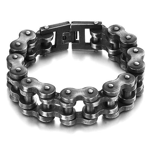 l'ultimo 78c17 84c7d BOBIJOO Jewelry - Enorme all'Ingrosso Bracciale Uomo Moto a ...
