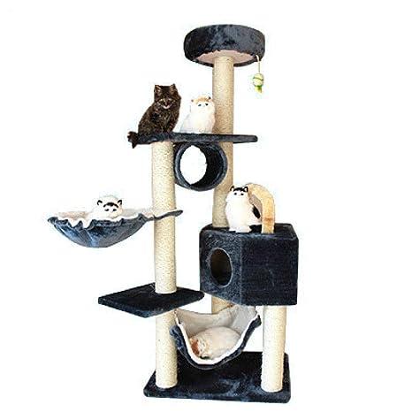 Gulunmun Árbol Rascador para Gatos Pet Cat Sisal Rope Scratching ...