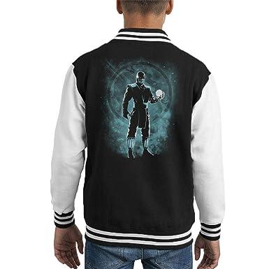 Sub Zero Ice Ninja Mortal Kombat Kids Varsity Jacket ...