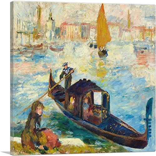 ARTCANVAS The Grand Canal Venice 1881 Canvas Art Print by Pierre-Auguste Renoir- 12