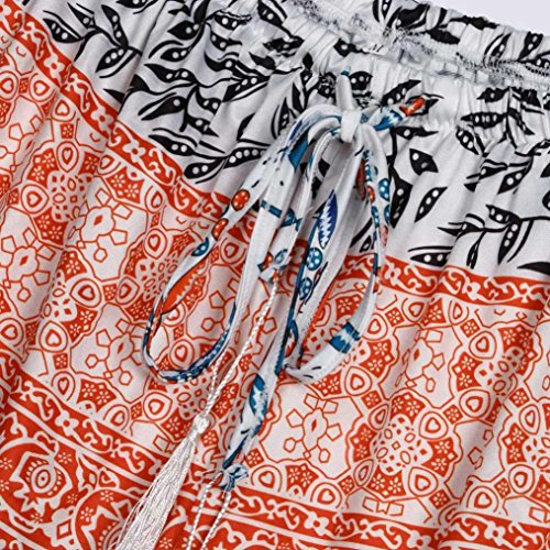 Pantaloni Pants Gaddrt Alta Orange Corti Hot Vita Donne Sexy S xl Estate Casual WrTRXTBg