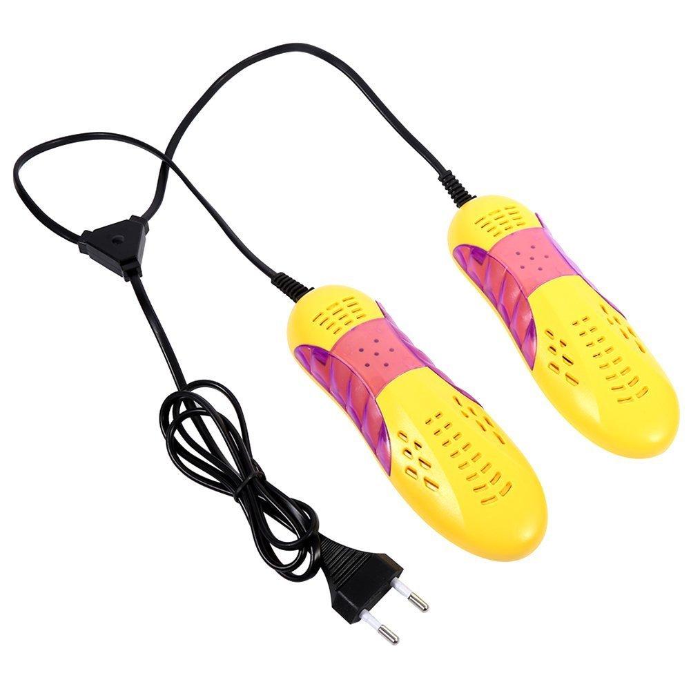 Essiccatore Scarpe Deodorante Deumidificatore Sterilizzatore Elettrico Asciugatore Asciuga Scarponi per Scarpe Scarponi Sci Yosoo