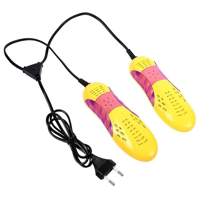 Secador de Zapatos Eléctrico Calentador de Zapatos Ligeros Calentador Desodorante Calefacción Multifunción