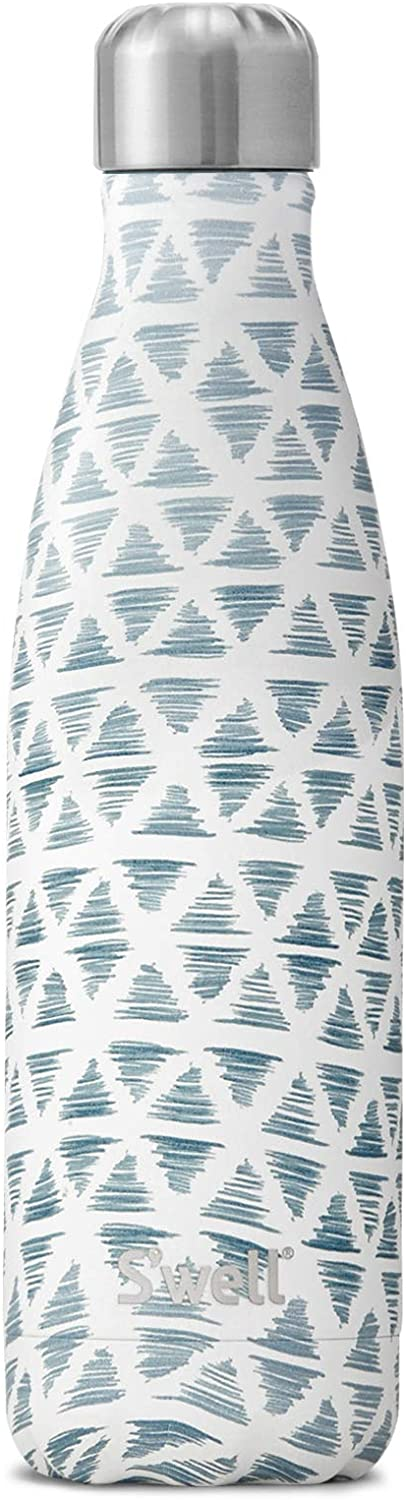 S'well Vacuum Insulated Stainless Steel Water Bottle, 17 oz, Paraga