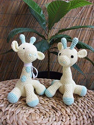 Molly Giraffina Amigurumi Giraffa Alluncinetto Regalo Per