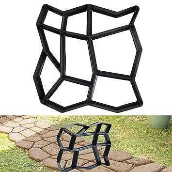 Molde de cemento para piedras de lastre para caminos y suelos de piedras de jardín