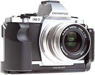 product image for Really Right Stuff BOEM5 Set L-Plate and Grip for Olympus OM-D E-M5