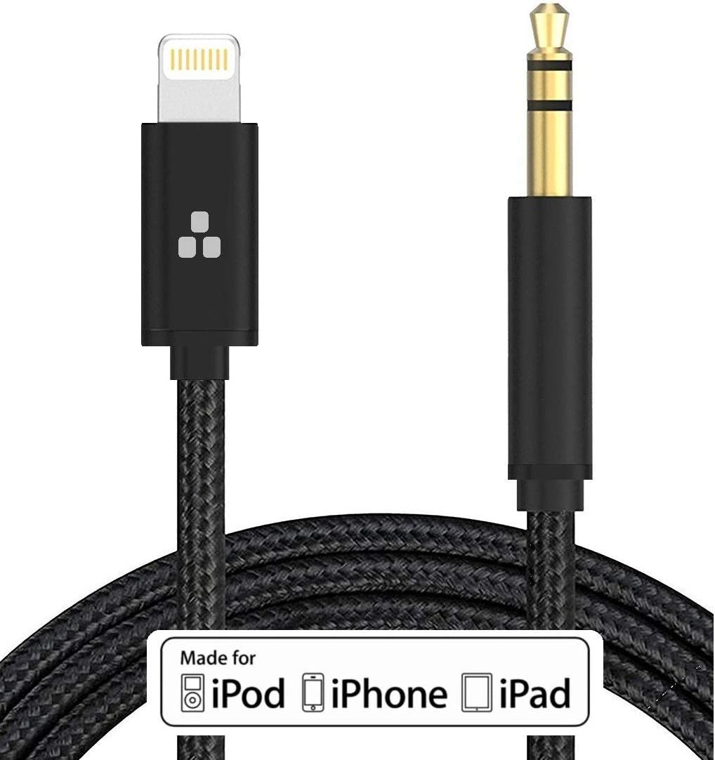 Lightning to 3.5mm Aux Audio Adapter