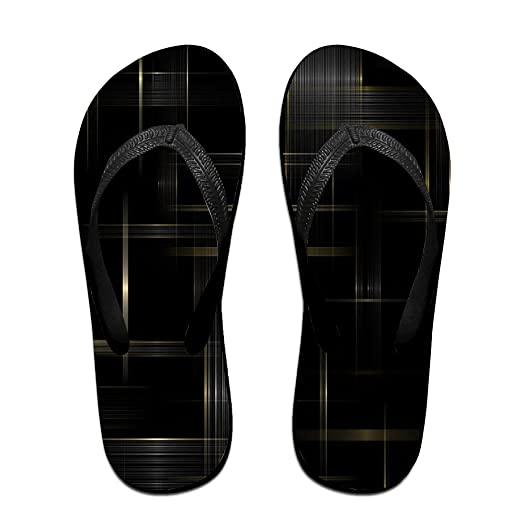 Summer Looming Lines Pattern Slides Sandals Flip Flops Outdoor Indoor Casual Comfy Slippers