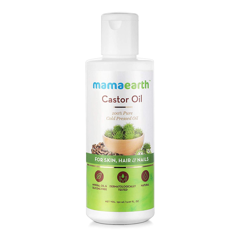 Mamaearth 100% Pure Castor Oil