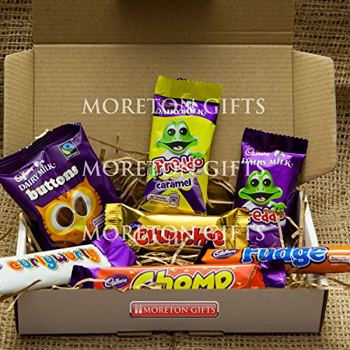 Cadbury Funsize Treat Box - Buttons, Freddo Bars, Curly Wurl