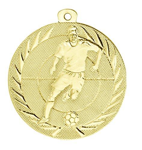 Kindermedaille BS75 gold - Medaillen für Kinder / Kindergeburtstag Fußball