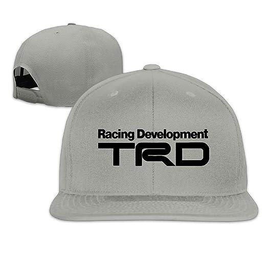 29112764221 GJdd diy Racing Development TRD Peaked Snapback Baseball Cap Flat Brim Hat  at Amazon Men s Clothing store