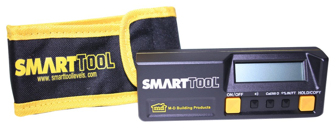 M-D Building Products 93969 Smart Tool Builder's Angle Sensor Module with Carrying Case