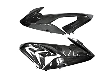 Prepreg de fibra de carbono (seco) de carbono superior Side Mid para Panel carenado para BMW S1000RR 2015 +: Amazon.es: Coche y moto