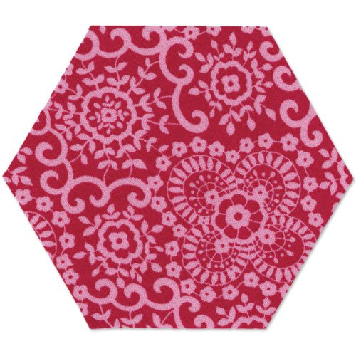"""Sizzix 657885 Bigz Die - Hexagon, 2 1/4"""" Sides"""