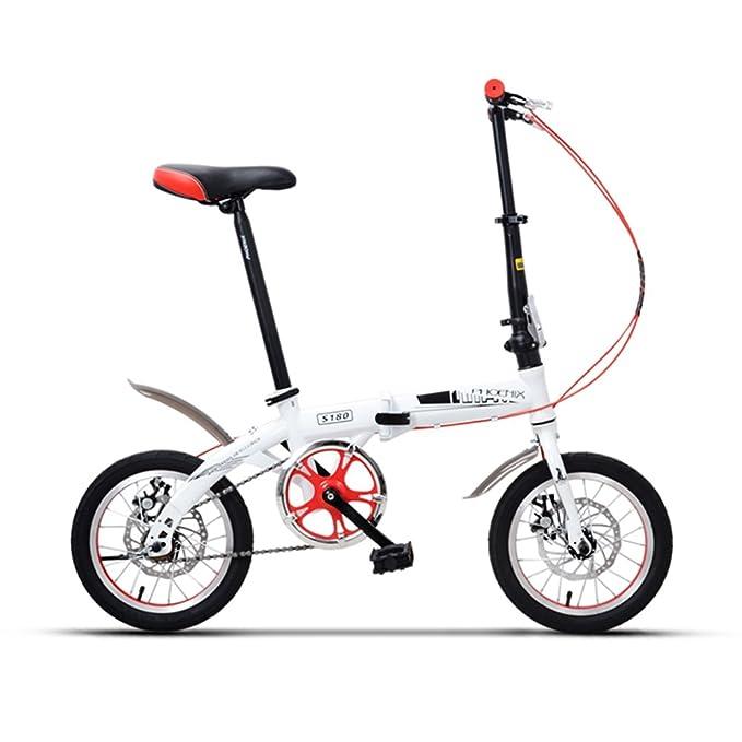 Bicicletas YANFEI Silla Plegable Niños de 635 mm. Chica DE 14 Pulgadas para Niños de 6 Años. Regalo para Niños (Color : Pink -14 Inch): Amazon.es: Deportes ...