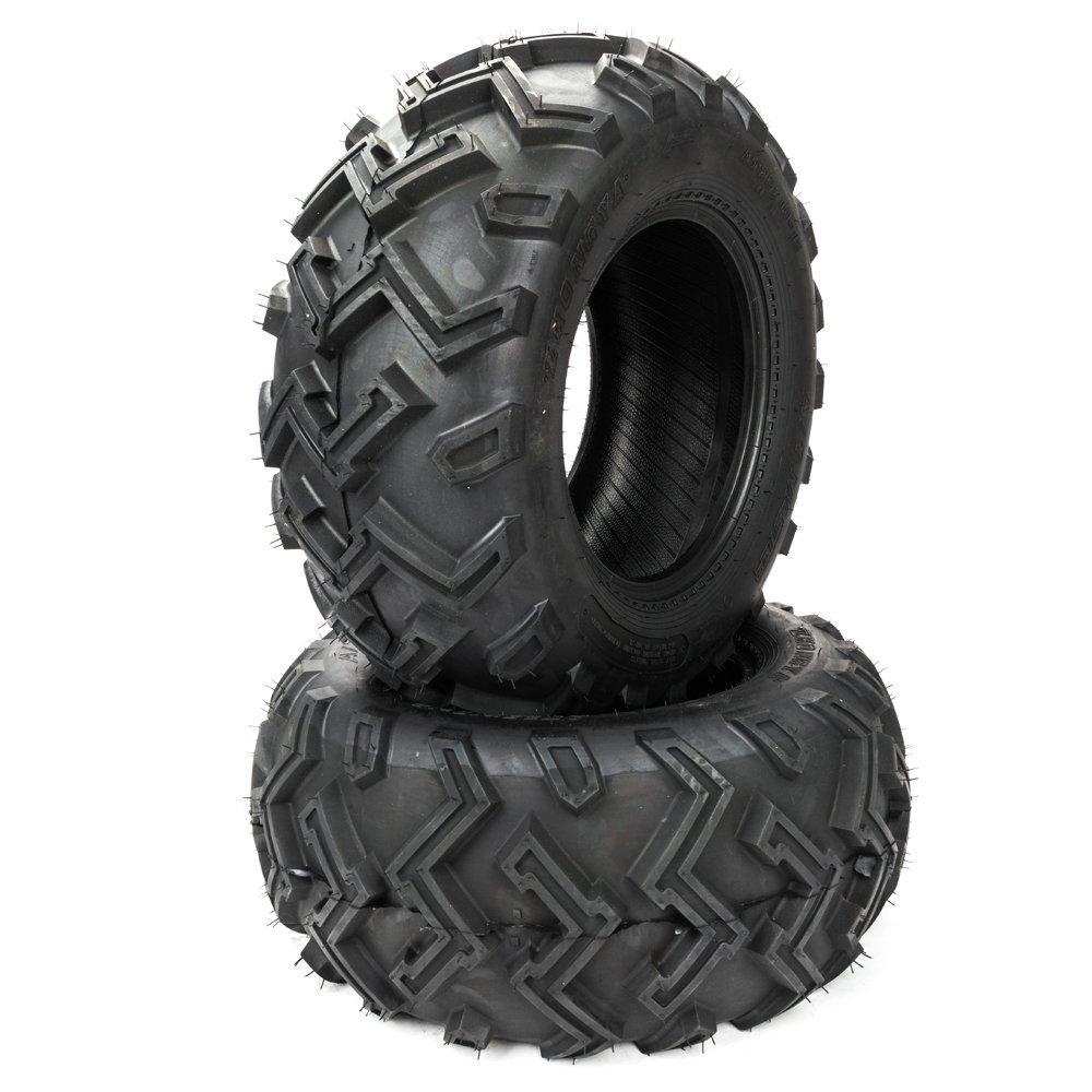 2 ATV UTV Tires 25x10-12 25x10x12 Rear 6PR P306B