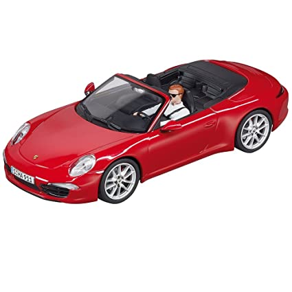 Amazon.com: Carrera Digital 132 30772 Porsche 911 Carrera S Cabriolet, Red: Toys & Games