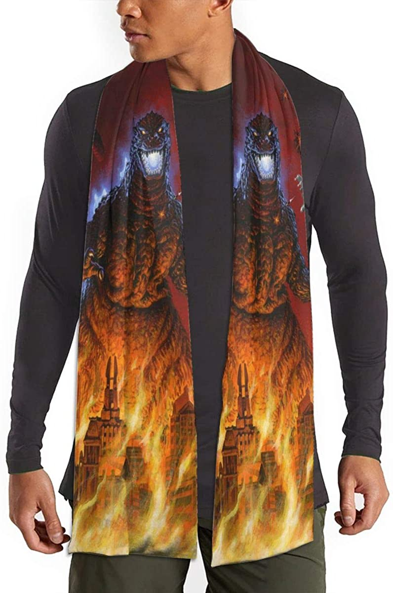 Any Costume Scarf God-zillaaa Elegant and Fashionable