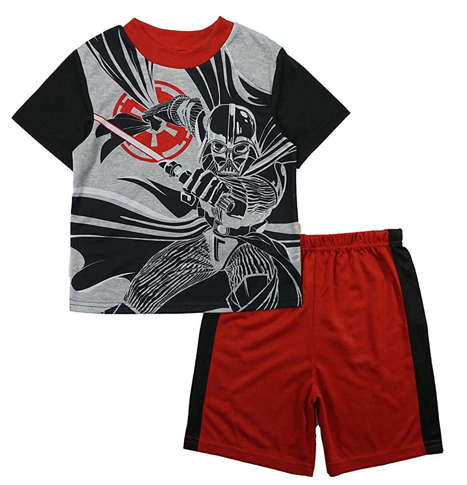 Star Wars Little Boys S//S Pajama Top 2pc Pajama Short Set
