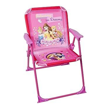 Charming Disney   Children Folding Chair Disney Princess   Garden Camping Home