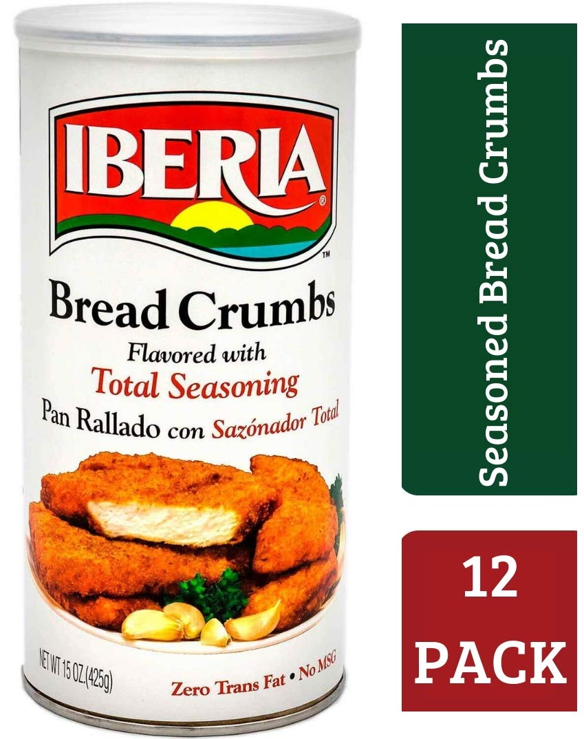 Iberia Pan migajas Flavored con total condimento, 15 oz ...