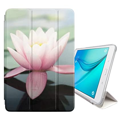 Amazon Fjcases Lotus Flower Beauty Cover Stand Back Case With