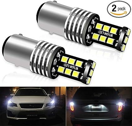 4pcs Light 1157 2057A BAY15D Cree LED Reverse Lamp White Bulb Vehicle High Power